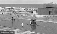 Blackhall Colliery, Crimdon Dene, Children In The Pool c.1965