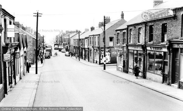 Photo of Blackhall Colliery, Middle Street c1965, ref. b327019