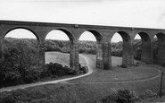 Blackhall Colliery, The Viaduct, Crimdon Dene c.1965