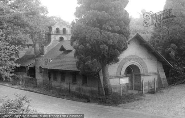 Photo of Blackheath, the Village Church c1955, ref. B114017