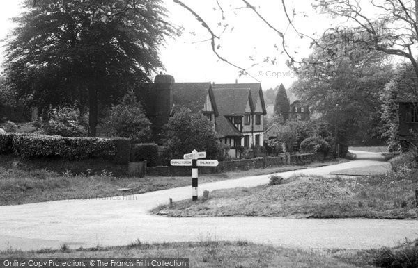 Photo of Blackheath, the Cross Roads c1955, ref. B114016