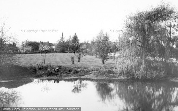 Photo of Blackmore, Pond And Green c.1960
