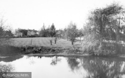 Blackmore, Pond And Green c.1960