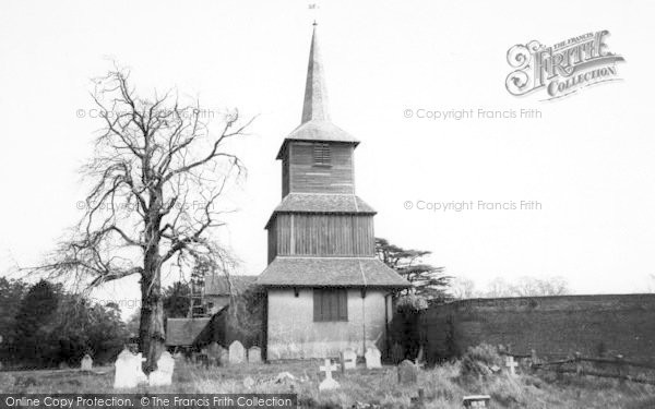Photo of Blackmore, The Church c.1960