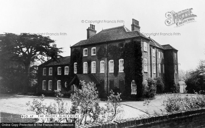 Photo of Blackmore, The Priory c.1960