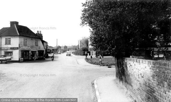 Photo of Blackmore, The Village c.1955
