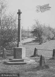 Blackmore, War Memorial c.1960