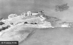 Aerial View Of Castle c.1930, Blackness