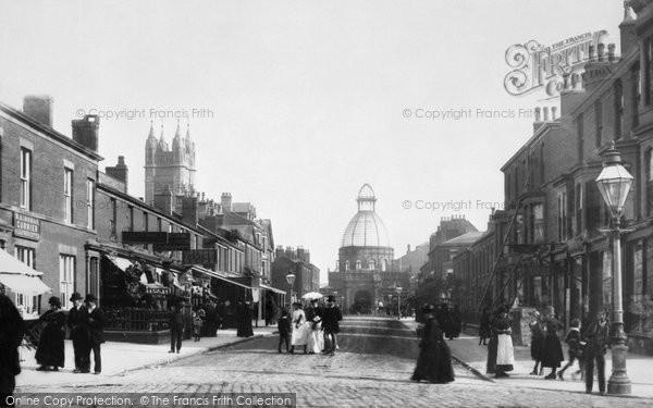 Blackpool, Abingdon Street 1890