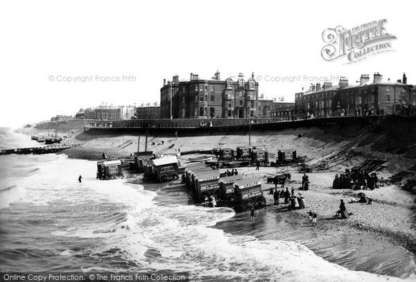 Photo of Blackpool, Bailey's Hotel 1890