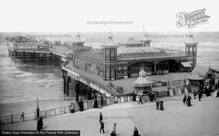 Blackpool, Central Pier 1906