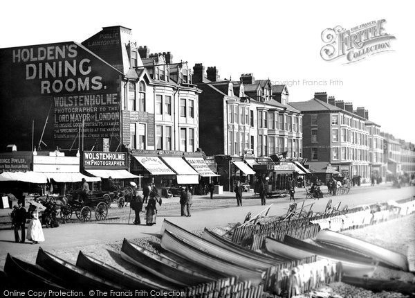 Blackpool, Electric Railcar 1890