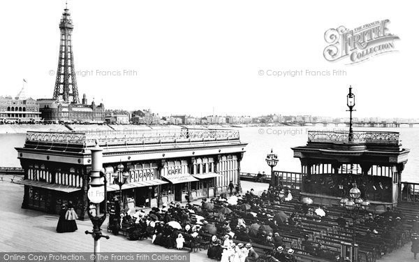 Blackpool, From North Pier 1899