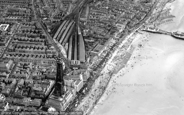 Photo of Blackpool, From The Air 1952