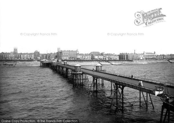 Blackpool, From The Pier 1890
