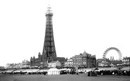Blackpool, From The Sands 1896