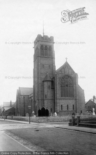 Blackpool, Holy Trinity Church At South Shore 1896