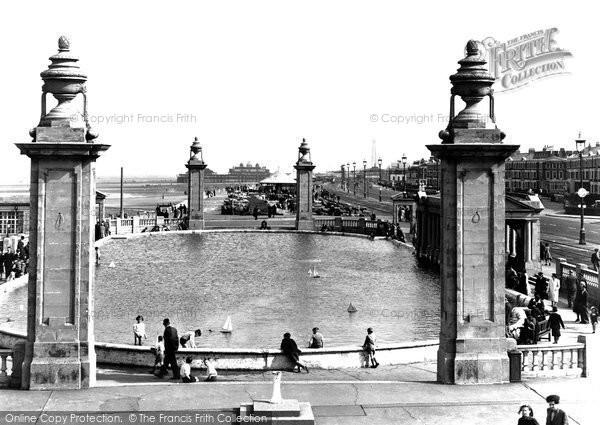 Blackpool, Kiddies Bathing Pool, South Shore c.1955
