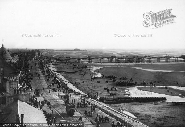 Blackpool, Parade From Tower 1896