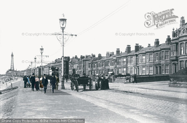 Photo of Blackpool, Seafront 1901