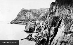 Blackpool, The Cliffs c.1875
