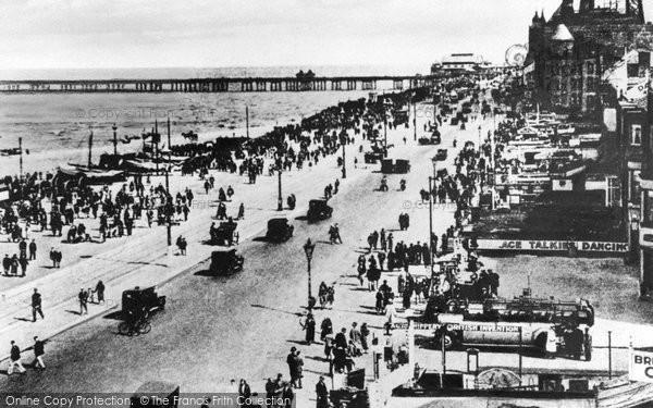 Blackpool, The Promenade c.1935