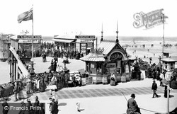 The South Jetty From The Wellington Hotel 1890, Blackpool