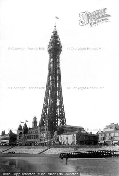 Blackpool, The Tower 1895