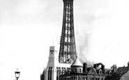 Blackpool, The Tower c.1950