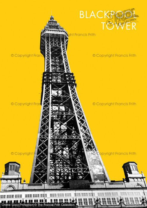 Photo of Blackpool, The Tower c.1955