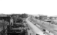 Blackpool, View From Palatine Hotel 1906