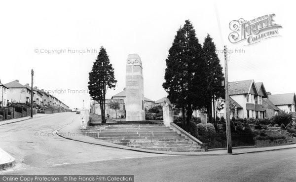 Blackwood, The Cenotaph c.1965