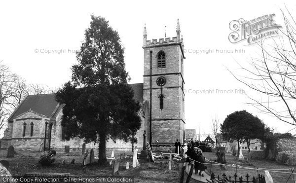 Bladon, St Martin's Church 1965