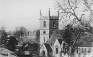 Bladon, St Martin's Church And Blenheim Palace c.1965
