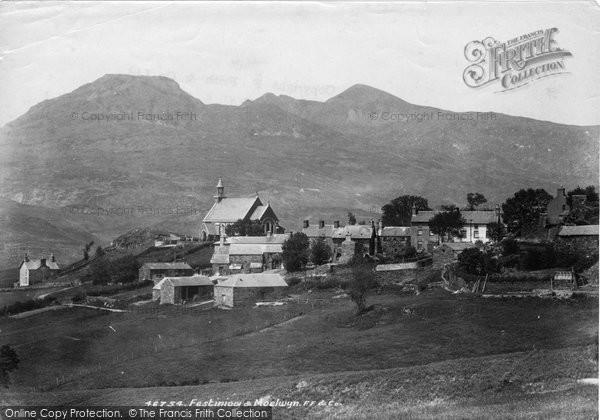 Blaenau Ffestiniog, And  Moelwyn 1901