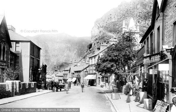 Blaenau Ffestiniog, Church Street 1901