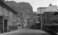 Blaenau Ffestiniog, Church Street 1955