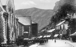 Blaenau Ffestiniog, Church Street c.1930