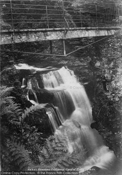 Blaenau Ffestiniog, Cynfal Fall 1901