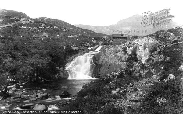 Blaenau Ffestiniog, Dolwen Falls 1901