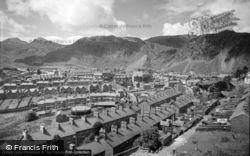General View 1961, Blaenau Ffestiniog