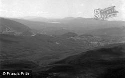 General View With Trawsfynydd Lake 1955, Blaenau Ffestiniog