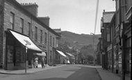 Blaenau Ffestiniog, High Street 1955
