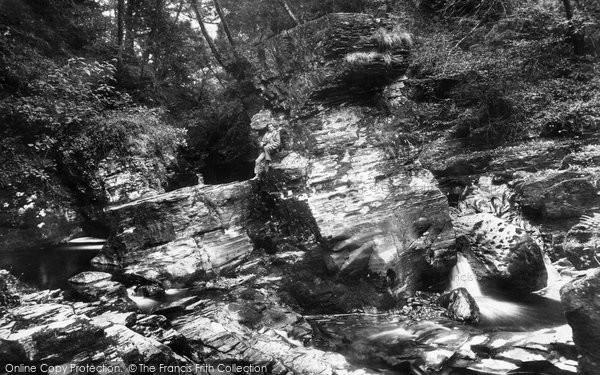 Photo of Blaenau Ffestiniog, Huw Llwyd's Pulpit 1901