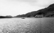 Blaenau Ffestiniog, Lower Dam And Power Station c.1965