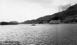 Blaenau Ffestiniog, Lower Dam And Power Station c.1965