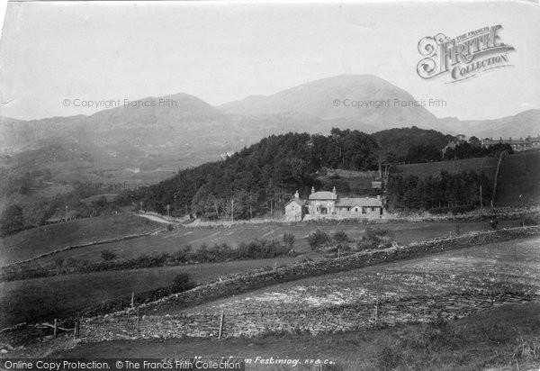 Photo of Blaenau Ffestiniog, Manod 1901, ref. 46760