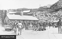 Blaenau Ffestiniog, Pay Day, Llechwedd Slate Quarry c.1890