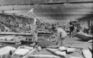 Blaenau Ffestiniog, Slate Dressing, Llechwedd Slate Quarry c.1894