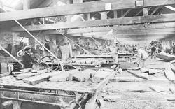 Slate Dressing Mill, Llechwedd Slate Quarry c.1894, Blaenau Ffestiniog